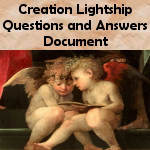 Creation Lightship Questions and Answers Document.